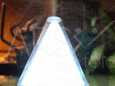 lampara y humidificador vaporizador
